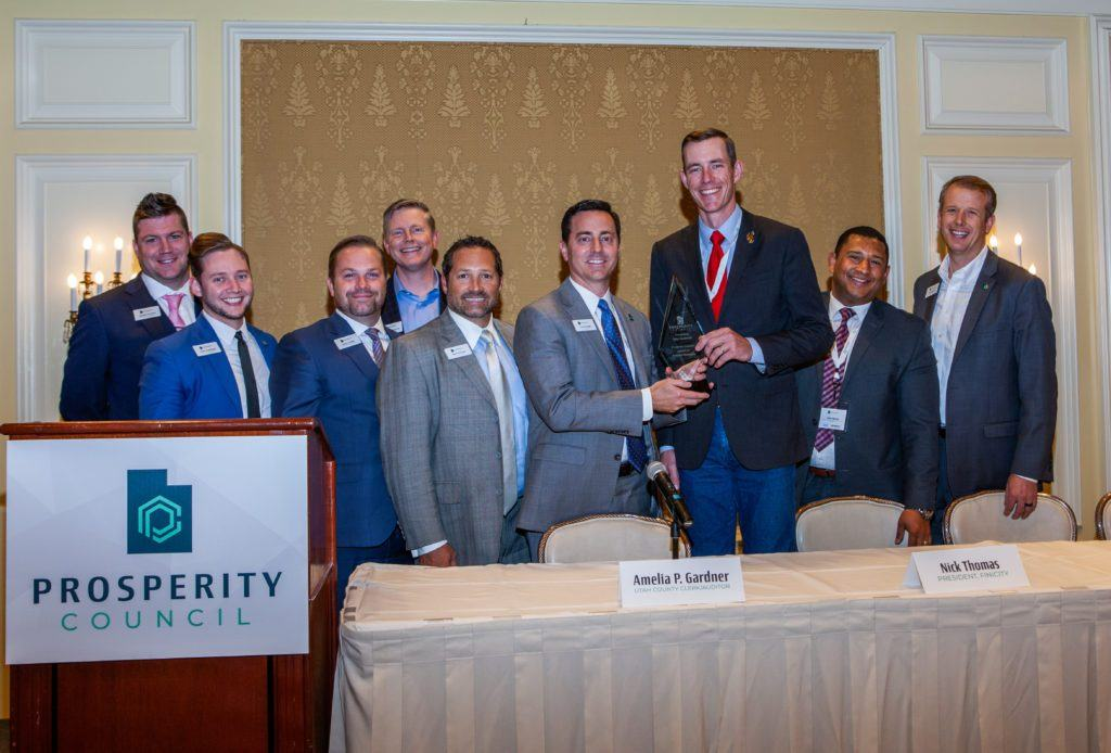 "Medici's Jonathan Johnson & Rep. Tyler Lindholm Presented ""Freedom"" Awards"